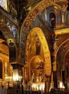 Palermo, Cappella Palatina, Palatine Chapel, Palazzo dei Normanni
