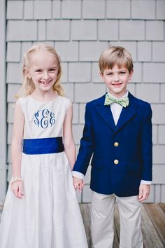 Southern weddings - monogrammed wedding ideas