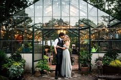 A greenhouse wedding on Long Island New York at Peconic River Herb Farm with a Sarah Seven Romanced gown by top new york wedding photographer, Ryan Flynn Photography. Wedding In The Woods, Forest Wedding, Garden Wedding, Wedding House, Woodland Wedding, Wedding News, New York Wedding, April Wedding, Wedding Locations