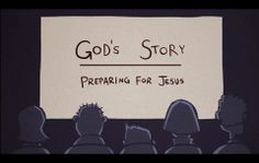 "God's Story: God's Rescue Plan   Garden death for sin /Abraham/Passover/Crucifixion Gospel ""Jesus died so we don't have to"""