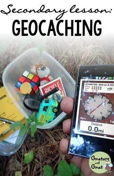 Need a great outdoor activity?  Go geocaching with your class!