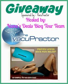 #VacuPractor #giveaway Come check out my Blog. #ad