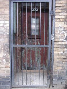 Caged Door