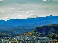 Hiwadayama view to Mount Fuji