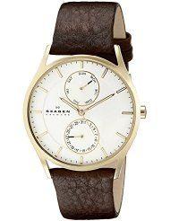#@# Skagen SKW6066 Buy Cheap! skagen skw6066 holst stainless steel watch with dark brown strap SALE! BUY=> http://buywatchescheapprices.org/skagen-skw6066-holst-stainless-steel-watch-with-dark-brown-strap/