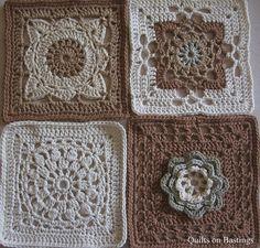 200 Crochet Blocks | www.quiltsonbastings.blogspot.com | Karen Terrens | Flickr