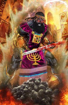 Bible Art, Bible Scriptures, Black Hebrew Israelites, Pam Grier, Black Jesus, 12 Tribes Of Israel, Black Art Pictures, Spiritual Power, Biblical Art