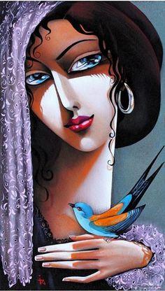Spanish Woman by Ira Tsantekidou.