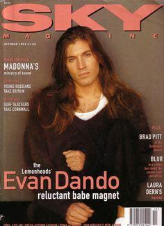 Evan Dando (frontman for Boston band the Lemonheads, international…