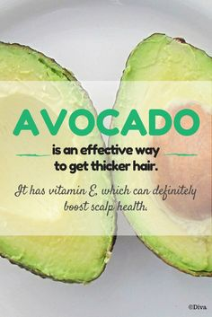 How to Get Thicker Hair Naturally - #Avocado isn't just good for the body and for the face. It also works wonders as a hair #mask. ❤ Find out what else you should avoid to keep hair loss at bay. ❤