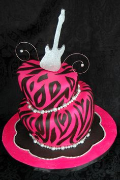 Image detail for -Rock & Roll Cake by Dazzling Cake Designs