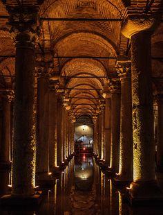 Basilica Cistern Interior - Istanbul