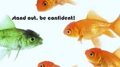 stand out - be confident #lifequotes