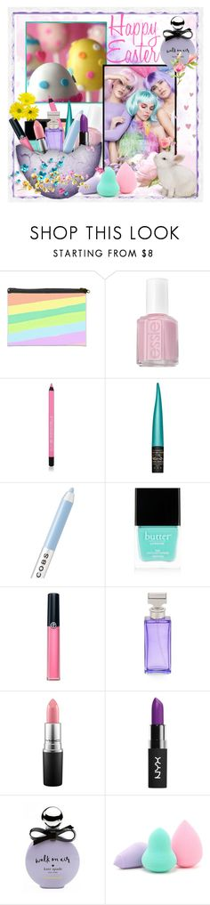 """Happy easter"" by jaja8x8 ❤ liked on Polyvore featuring beauty, Essie, MAC Cosmetics, Marc Jacobs, Butter London, Armani Beauty, Calvin Klein, NYX, Kate Spade and Forever 21"