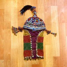 beads hat uzbek hat asian hat ethnic hat decorative by akcaturkmen, $180.00
