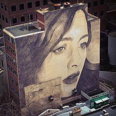 Street art by Rone | http://ineedaguide.blogspot.com/2015/05/rone.html | #art #streetart