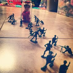 Toy Solider capture #elfontheshelf - Elf on the Shelf ideas from Our Knight Life
