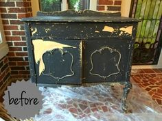 Vintage Chest Gets a Fresh Start With Chalk Style Paint