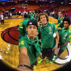 David Luiz, Neymar