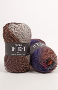 A luxurious and super soft wool yarn in many fabulous colours! DROPS Delight is a single stranded yarn, made with superwash treated wool and strengthened. Drops Delight, Gradient Color, Wool Yarn, Winter Hats, Colour Chart, Colours, Texture, Knitting, Crochet