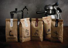 Best Awards - Font Studio. / Hawthorne Coffee Packaging