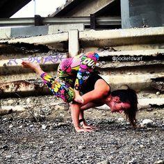 Grasshopper Prep ~ #yoga