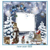 Новый год фоторамка 609