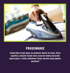 Udowadniamy, że prasowanie może być przyjemne - Sami zobaczcie!!! Simple Life Hacks, Useful Life Hacks, Diy Cleaning Products, Cleaning Hacks, Guter Rat, Life Guide, Home Hacks, Good Advice, Homemaking