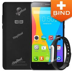 "ELEPHONE P6000 5"" HD OGS Android 4.4.4 MTK6732 4-Core 4G LTE Phone + Xiaomi Miband KB-378265"