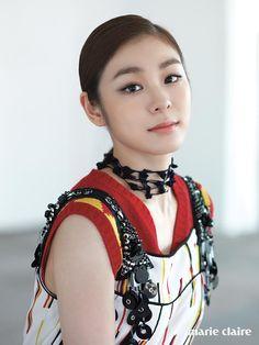 The Chosun Ilbo (English Edition): Daily News from Korea - Kim Yu-na Poses for Photo Shoot to Cheer Athletes Korean Beauty, Asian Beauty, Kim Yuna, Olympic Champion, Poses For Photos, Sports Stars, Celebs, Celebrities, Figure Skating