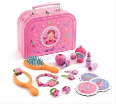 Djeco DJ06552 Role Play- My Vanity Case Playset -- You can find more details by visiting the image link. (This is an affiliate link) #VanityCasesDressUpToys