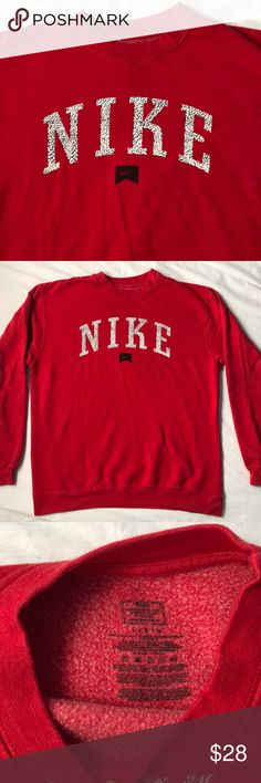 NIKE pullover Size Large for mens. Would fit Mediums Nike Sweaters