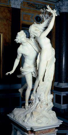 Apollo e Dafne (1622-25) marmo di Carrara   GIAN LORENZO BERNINI