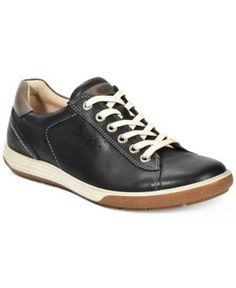 Ecco Women's Chase Ii Tie Sneakers - Black 5M