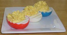 food color, vinegar, water...cute eggs