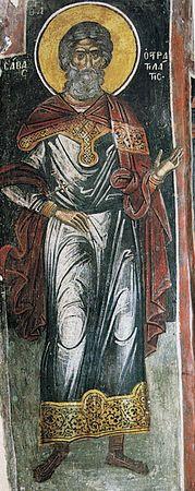 Мученик Савва Стратилат #Orthodox #Christian #icon