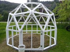 Posts about geodesic dome written by davesdomes Diy Small Greenhouse, Geodesic Dome Greenhouse, Geodesic Dome Homes, Greenhouse Plans, Greenhouse Gardening, Dome Structure, Fruit Creations, Roof Shapes, Pharmacy Design