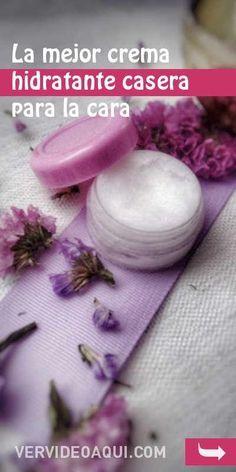 #crema #hidratante #cosmeticanatural #piel #cara #rostro #diy La mejor crema hidratante casera para la cara