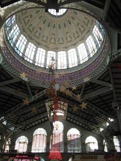 Navidad en el Mercado Central,Valencia. Valencia, Fair Grounds, Tower, Building, Xmas, Rook, Computer Case, Buildings, Construction