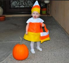 MommaChelle: Last years Candy Corn Costume Candy Corn Costume, Candy Costumes, Halloween Costumes, Fall Halloween, Halloween Ideas, Homemade Candies, Costume Dress, Stand By Me, Body Painting