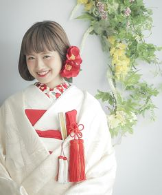 画像1 Wedding Images, Wedding Styles, Wedding Bride, Dream Wedding, Traditional Wedding Attire, Wedding Kimono, Japanese Wedding, Japan Woman, Hair Arrange