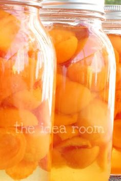 How to can apricots...not that I can get fresh apricot that easily.
