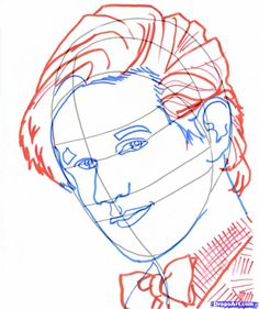 how to draw dr who, draw doctor who, doctor who step 8