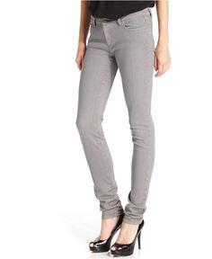 MICHAEL Michael Kors Jeans, Skinny, Gunmetal Wash