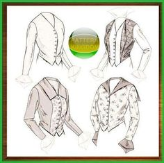 Butterick 4091 Late Victorian 1914 Basque Shirt/Blouse Patterns