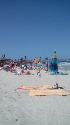 Playa de Muro Beach - this could be a solid beach option for staying in the Pollenca / Alcudia area