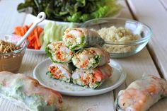 Homemade Shrimp Spring Rolls