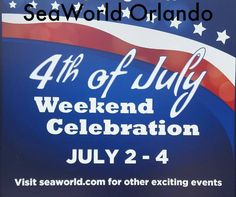 seaworld orlando july 4th 2013