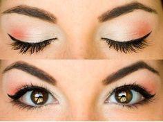 Idea make up occhi marroni