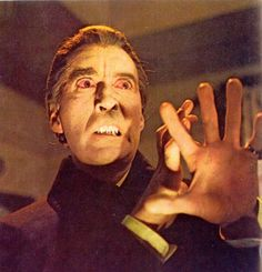Christopher Lee will always be Dracula for me!